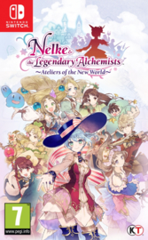 Switch Atelier Nelke & The Legendary Alchemists Atelier of the New World [Nieuw]