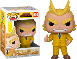 My Hero Academia Funko Pop - All Might Teacher #604 [Nieuw]