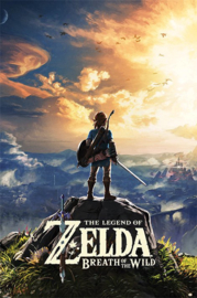The Legend of Zelda Poster Breath of the Wild Sunset (61x91cm) - Pyramid International