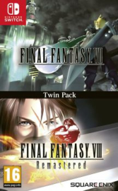 Switch Final Fantasy VII & Final Fantasy VIII Twin Pack [Pre-Order]