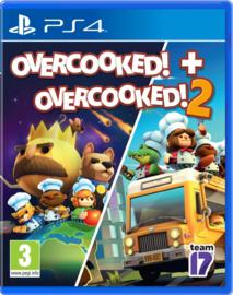 Ps4 Overcooked Double Pack (Overcooked 1 & Overcooked 2) [Nieuw]