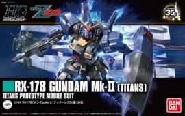 Gundam Model Kit HG 1/144 RX-178 Gundam MK-II (Titans) Prototype - Bandai [Nieuw]