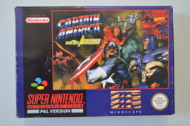 SNES Captain America and the Avengers [Compleet]