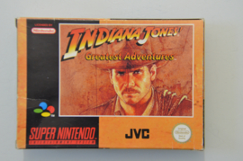 SNES Indiana Jones Greatest Adventures [Compleet]