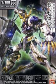 Gundam Model Kit FM 1/100 Gundam Barbatos Lupus Rex - Bandai [Nieuw]