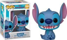 Disney Lilo & Stitch Funko Pop Smiling Seated Stitch #1045 [Nieuw]