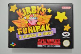 SNES Kirby's Fun Pak [Compleet]