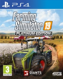 Ps4 Farming Simulator 19 Platinum Edition [Nieuw]