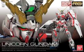 Gundam Model Kit RG 1/144 Unicorn Gundam Full Psycho-Frame Prototype Mobile Suit RX-0 - Bandai [Nieuw]