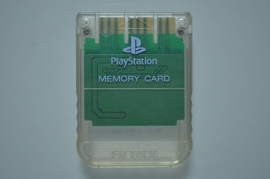 Playstation 1 Memory Card Transparant (1MB) - Sony