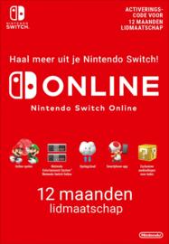 12 Maanden Switch Online Abonnement (365 Dagen)