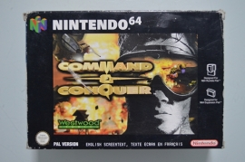 N64 Command & Conquer [Compleet]