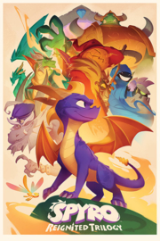 Spyro Poster Reignited Trilogy (61x91cm) - Pyramid International