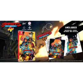 Switch Streets of Rage 4 (Includes Artbook and Keyring) [Pre-Order]