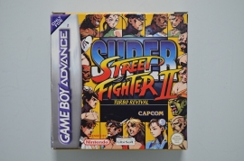 GBA Super Street Fighter II Turbo Revival [Compleet]