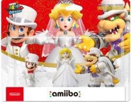 Amiibo Wedding 3 Pack - Super Mario Odyssey [Nieuw]