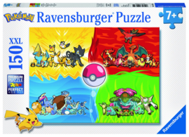 Pokemon Puzzle Pokemon Types (150 stukjes) - Ravensburger [Nieuw]