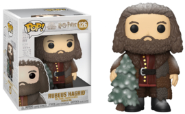 "Harry Potter Funko Pop - Holiday Hagrid with Christmas Tree 6"" Super Sized #126 [Nieuw]"
