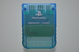 Playstation 1 Memory Card Blauw (1MB) - Sony