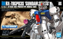 Gundam Model Kit HG 1/144 RX-78GP03S Gundam GP03 Stamen - Bandai [Nieuw]