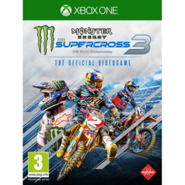 Xbox One Monster Energy Supercross 3 [Pre-Order]