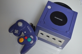Gamecube Console Paars + 1 Controller