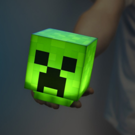 Minecraft 3D Icon Light + Sound Creeper - Paladone [Nieuw]