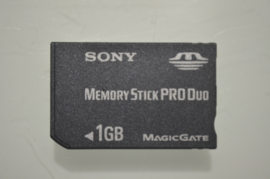 PSP Memory Card PRO Duo 1 GB - Sony