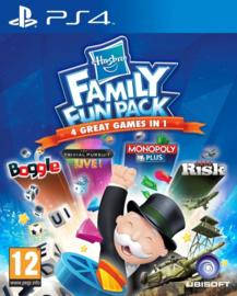 Ps4 Hasbro Family Fun Pack (Monopoly, Boggle, Trivial Persuit, Risk) [Nieuw]