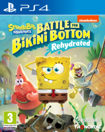 PS4 Spongebob Squarepants Battle for Bikini Bottom Rehydrated [Pre-Order]