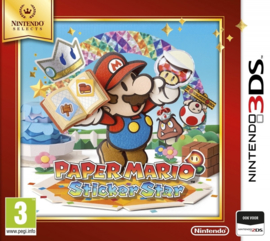 3DS Paper Mario Sticker Star (Nintendo Selects) [Nieuw]