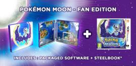 3DS Pokemon Moon - Steelbook Fan Editie [Nieuw]