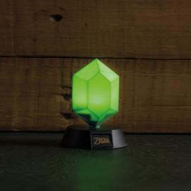 The Legend of Zelda 3D Icon Green Rupee - Paladone [Nieuw]