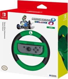 Nintendo Switch Joy-Con Stuur Mario Kart 8 Deluxe Racing Wheel (Luigi) - Hori [Nieuw]
