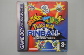 GBA Pokemon Pinball Ruby & Sapphire [Compleet]