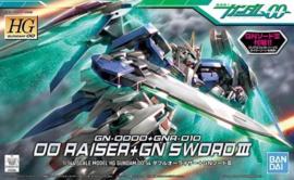 Gundam Model Kit HG 1/144 Raiser+GN Sword II - Bandai [Nieuw]