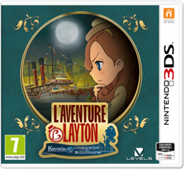3DS Layton's Mystery Journey: Katrielle and the Millionaires' Conspiracy [Nieuw]