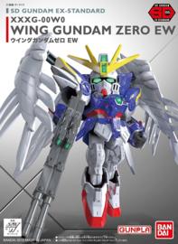 Gundam Model Kit SD Gundam EX-Standard XXXG-00W0 Wing Gundam Zero EW - Bandai [Nieuw]