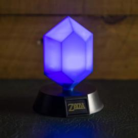 The Legend of Zelda 3D Icon Blue Rupee - Paladone [Nieuw]