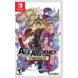 Switch The Great Ace Attorney Chronicles [Nieuw]