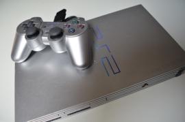 Playstation 2 Console Phat (Zilver/Grijs)