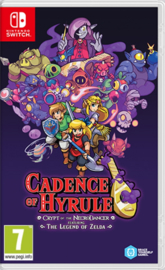 Switch Cadence of Hyrule Crypt of the NecroDancer (Featuring The Legend of Zelda) [Nieuw]