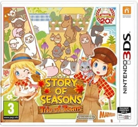 3DS Story of Seasons Trio of Towns [Nieuw]