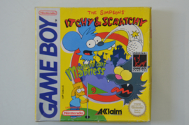 Gameboy Itchy & Scratchy Miniature Golf Madness [Compleet]
