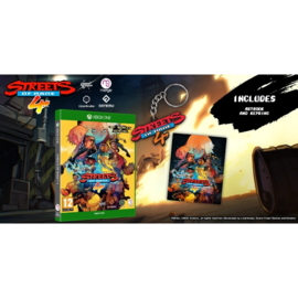 Xbox One Streets of Rage 4 (Includes Artbook and Keyring) [Pre-Order]
