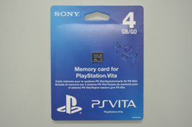 Playstation Vita Memory Card 4 GB - Sony [Nieuw]