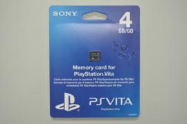 Playstation Vita Memory Card 4 GB - Sony [Nieuw]