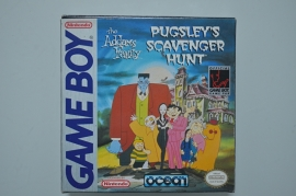 Gameboy The Addams Family Pugsley's Scavenger Hunt [Compleet]