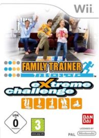 Wii Family Trainer Extreme Challenge [Nieuw]
