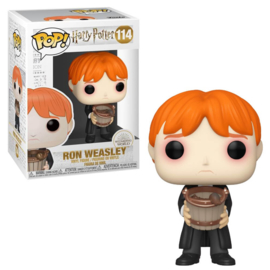 Harry Potter Funko Pop - Ron Pucking Slug with Bucket #114 [Nieuw]